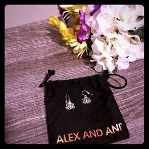 Alex & Ani Lotus Peace Petal Earrings✌🏽❤️